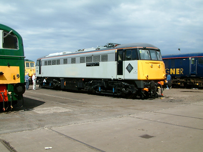 85101 at Doncaster Works on the 26th July 2003