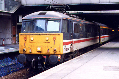 86204 at Birmingham New Street on the 21st May 1998