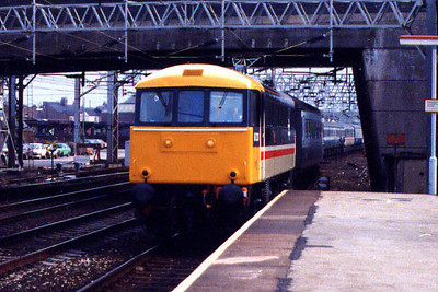 86235 arrives at Stafford on the 2nd April 1986