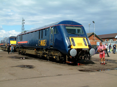 89001 at Doncaster Works on the 26th July 2003