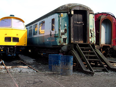 5461 stands at Swanwick yard on the 31st March 2007