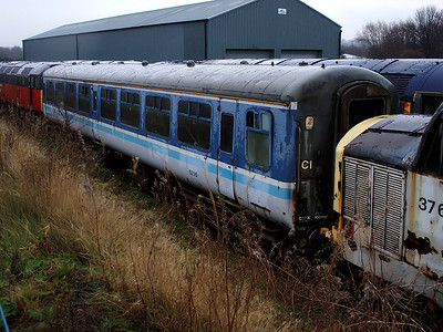 5226 at Barrow Hill on the 6th January 2007