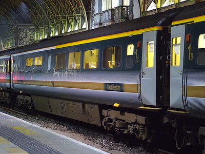 10219 stands at London Paddington on the 10th June 2007
