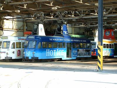622, 621 & 631 - Rigby Road Depot - 18th July 2004