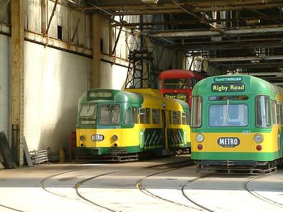681 & 636 - Rigby Road Depot - 18th July 2004