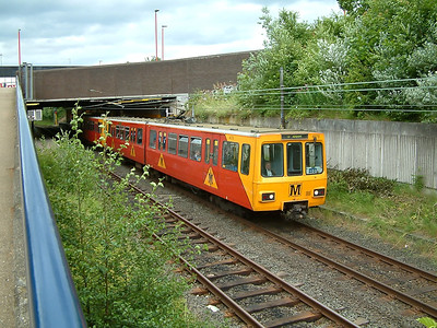 4078 scurries away from Heworth on the 19th July 2005