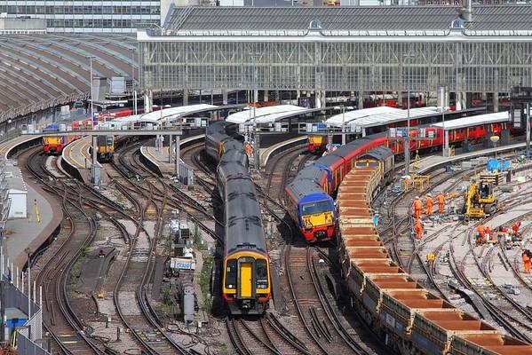 London Waterloo derailment 15/08/2017