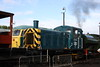 Class 03 Diesel Shunter number 03 066 at Barrow Hill Model Rail Live.<br /> 18th September 2011