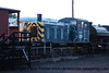 Class 03 Diesel Shunter number 03 066 at Barrow Hill.<br /> 16th September 2011