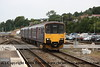 Class 150 2 Car Sprinter DMU number 150 129 approaches Exeter St Davids with a Plymouth train.<br /> 28th July 2011