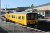 Class 950 2 Car Sprinter DMU Set number 950 001 at Penzance with 2Q08 0248 Plymouth Laira to Penzance (via Gunnislake and Fowey!). <br /> 20th February 2018
