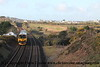 Class 950 2 Car Sprinter DMU Set number 950 001 passes North Crofty Junction with 2Q08 0248 Plymouth Laira to Penzance (via Gunnislake and Fowey!). <br /> 20th February 2018