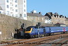 Class 43 HST Power Car number 43 094 departs from Penzance with 1A85 1000 Penzance to London Paddington.<br /> 20th February 2018