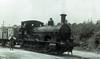 Beattie Well Tank Steam Locomotive number 30587 at Wenford Bridge.<br /> 21st July 1955