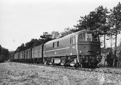 Class 71 Electric Locomotive number E50xx.  Official BR Publicity photograph supplied with thanks by Mr G Holmes.<br /> 30.10.62