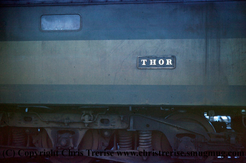 "Class 47 Diesel Locomotive number D1677 ""Thor"""