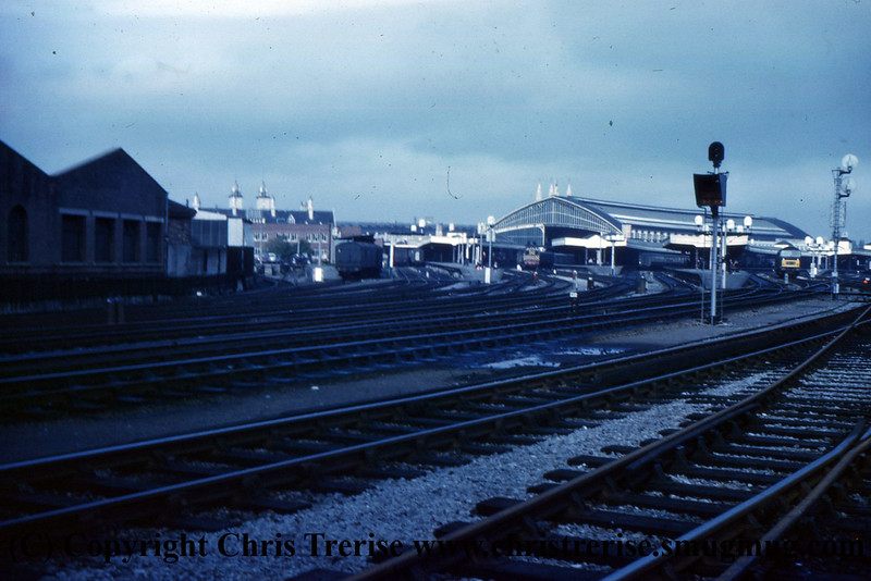 Bristol Temple Meads in the late 1960s
