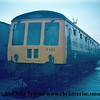 Class 119 Driving Motor Brake Composite number W51069, part of set number P583, at Plymouth Laira.<br /> 1st December 1973