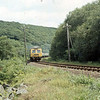 A Class 120 3 Car DMU Set can be seen near Luxulyan with 2B22 Par to Newquay working.<br /> 1974