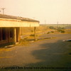 St Agnes station seen after closure but prior to the industrial estate being built on the site.<br /> 1976