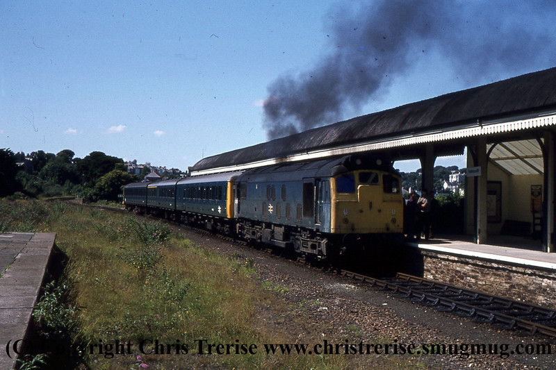 Class 25 Diesel at Falmouth