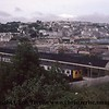 A Class 120 3 Car DMU at Falmouth Docks station with a service for Truro.  The station was called Falmouth at this time.<br /> 23rd September 1978