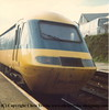 Class 43 HST Power Car number W43004 at Redruth.<br /> 1980s