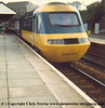 Class 43 HST Power Car number W43035 at Redruth in the early 1980s.