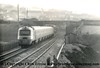 Class 43 HST Power Car number 43 035 passes Brea Village with 1B45 1345 London Paddington to Penzance.<br /> 1984