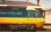 Class 43 HST Power Car number 43 147 at Camborne with a London service.<br /> 1984.