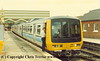 Class 151 3 Car DMU number 151 004 at Cleethorpes.<br /> 1988