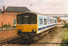 Class 150/1 2 Car DMU number 150 130 at Wellowgate with the 1322 Cleethorpes to Sheffield.<br /> 13th May 1989