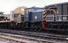 Class 97 Departmental Diesel Shunting Locomotive number PWM 654