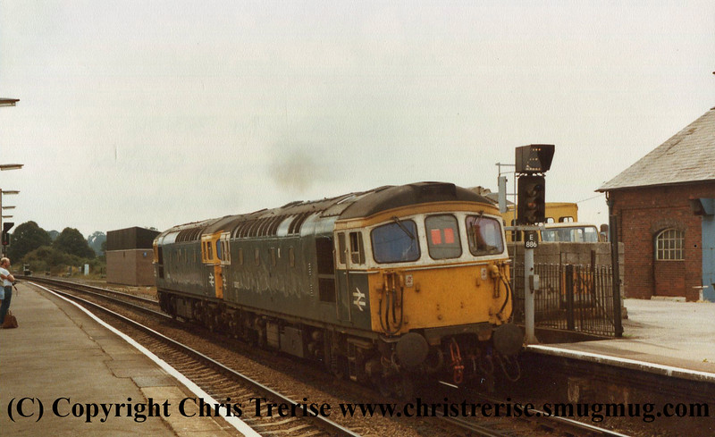 Class 33s at Romsey