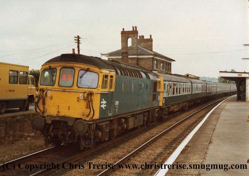 Class 33 at Romsey