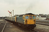 Class 33/1 and Class 438 4-TC Depart Weymouth