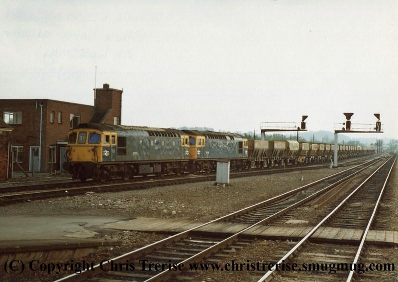 Class 33s at Westbury