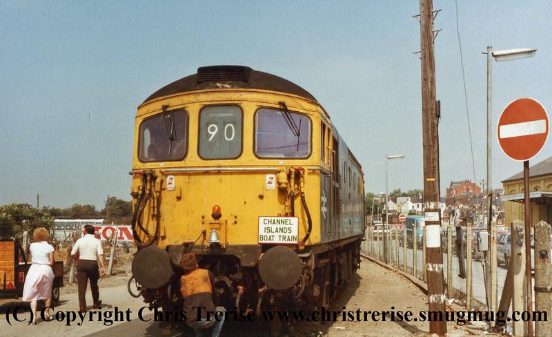 Class 33 at Weymouth