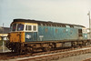 Class 33/1 Diesel at Weymouth
