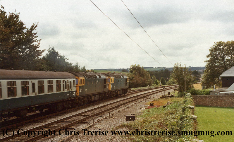 Class 33s at Dorchester Junction