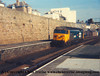 "Class 50 Diesel Locomotive number 50 005 named ""Collingwood"" at  Penzance.<br /> 16th February 1987"