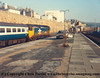 "Class 50 Diesel Locomotive number 50 020 named ""Revenge"" at Penzance with the 1030 Penzance to Liverpool Lime Street.<br /> 16th February 1987"