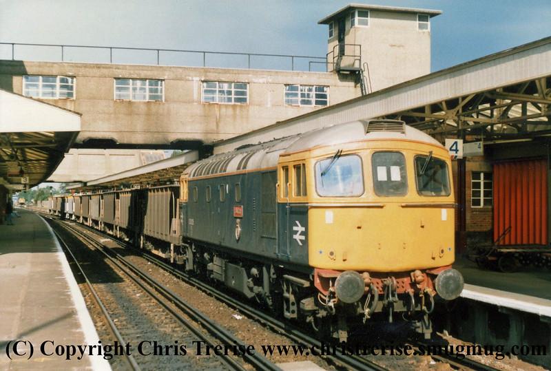 Class 33 Copyright Chris Trerise