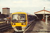 Class 165 3 Car Turbo DMU number 165 106 departs Reading with the 1853 London Paddington to Oxford.<br /> 12th July 1993