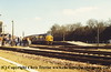 Class 37 Diesel Locomotive number 37 012 at Yeovil Junction.<br /> 26th March 1994