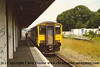 Class 150 2 Car Sprinter DMU number 150 247 at Falmouth Docks with the 1440 to Truro.<br /> 2nd July 1998
