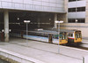 Class 142 2 Car Pacer DMU Set number 142 023 alongside 142 041 at Manchester Victoria.<br /> 15th July 1998