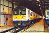 Class 319 4 Car EMU number 319 011 at Selhurst Depot.<br /> 5th October 2001