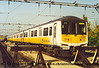 Class 319/0 4 Car EMU Set number 319 003 at Bedford Carriage Sidings.<br /> October 2001