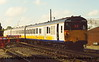 Class 205 3 Car Berkshire DEMU number 205 033 at Selhurst Depot.<br /> 5th October 2001